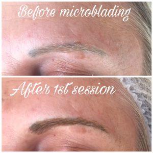 Microblading on Eyebrows 3